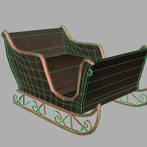 sleigh-3d-model-7