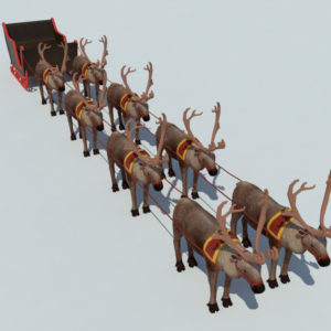 sleigh-reindeer-3d-model-1