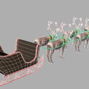 sleigh-reindeer-3d-model-10