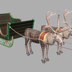 sleigh-reindeer-3d-model-12