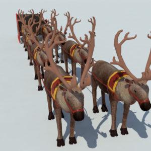 sleigh-reindeer-3d-model-2