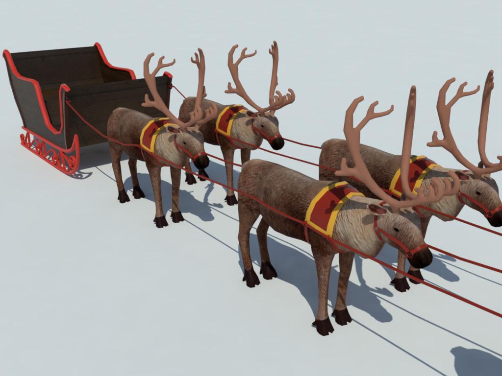 sleigh-reindeer-3d-model-5
