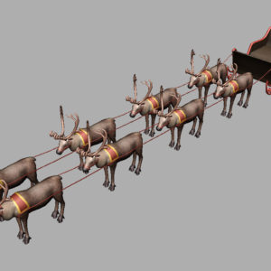 sleigh-reindeer-3d-model-9