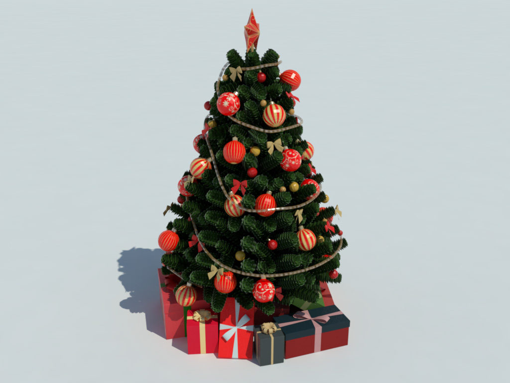 Christmas Tree Games Decoration
