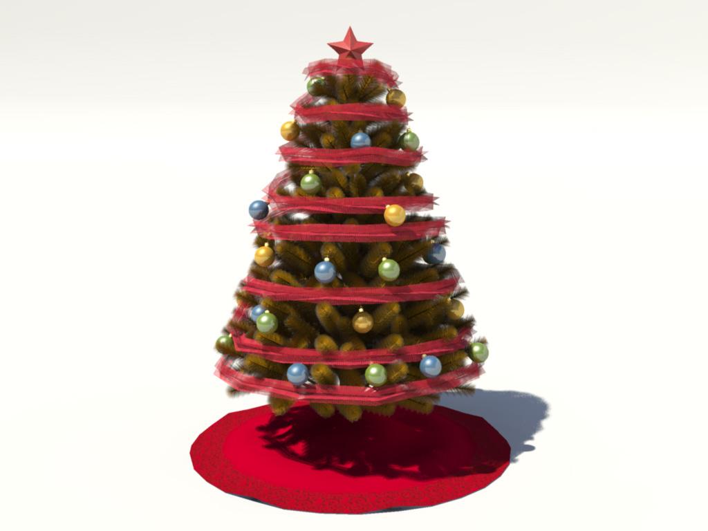 christmas-tree-golden-3d-model-2