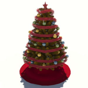 christmas-tree-golden-3d-model-4