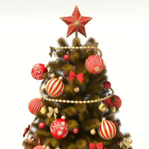 christmas-tree-golden-3d-model-decoration-1