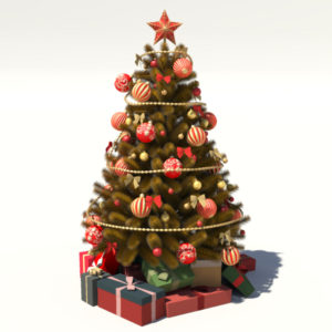 christmas-tree-golden-3d-model-decoration-2