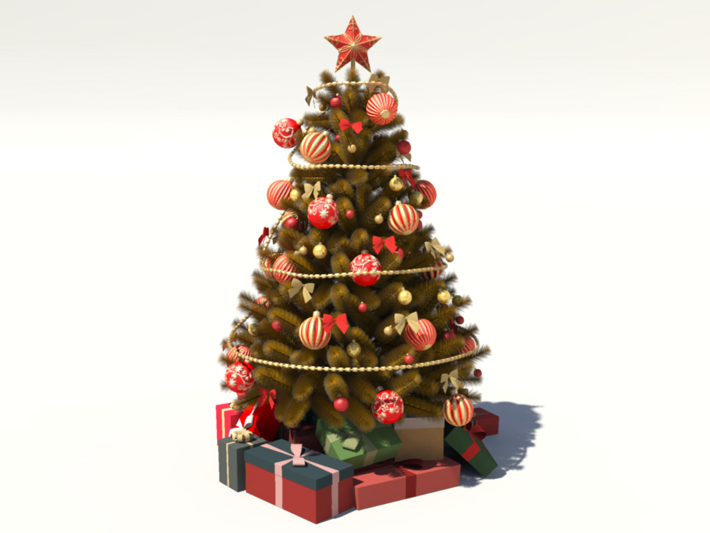 Winter holiday archives 3d models world for 3d model decoration