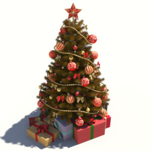 christmas-tree-golden-3d-model-decoration-4