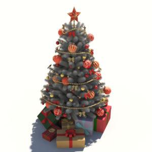 christmas-tree-white-3d-model-decoration-4