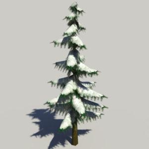 conifer-pine-tree-snow-3d-model-4