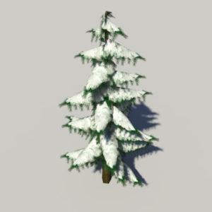 conifer-pine-tree-snow-3d-model-5