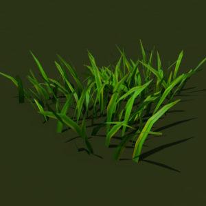 grass-patch-3d-model-1