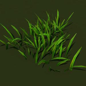grass-patch-3d-model-2
