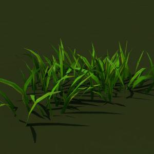 grass-patch-3d-model-3