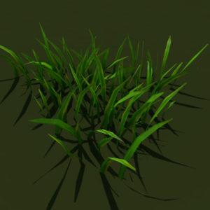 grass-patch-3d-model-4