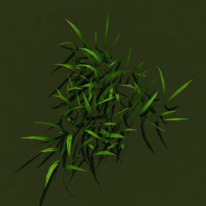 grass-patch-3d-model-5