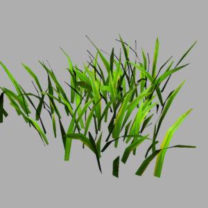 grass-patch-3d-model-6