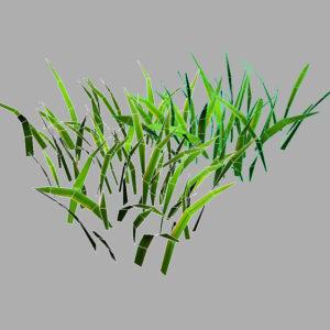 grass-patch-3d-model-7