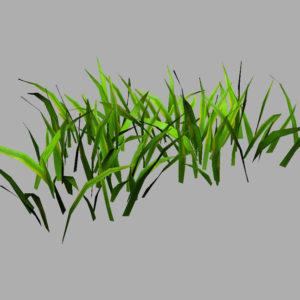 grass-patch-3d-model-9