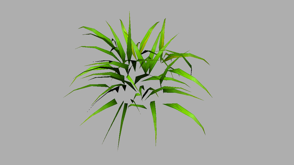 Grass Plant 3D Model - Realtime - 3D Models World