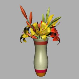 lily-vase-orange-yellow-3d-model-10