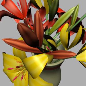lily-vase-orange-yellow-3d-model-11