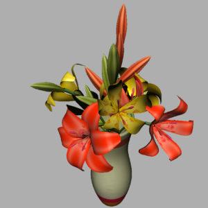 lily-vase-orange-yellow-3d-model-12