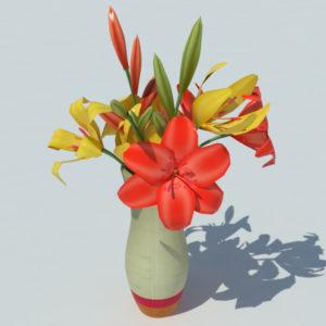 lily-vase-orange-yellow-3d-model-3