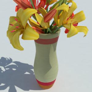 lily-vase-orange-yellow-3d-model-6