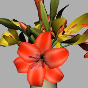 lily-vase-orange-yellow-3d-model-7