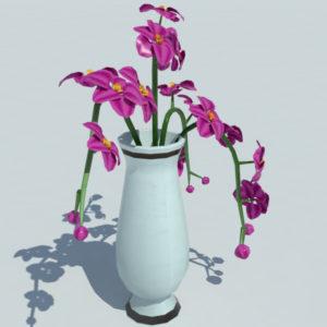orchid-vase-3d-model-purple-4