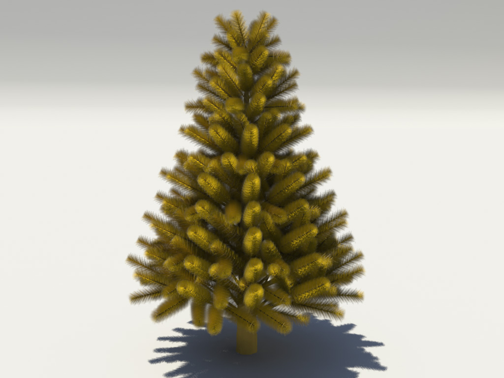pine-tree-golden-3d-model-4