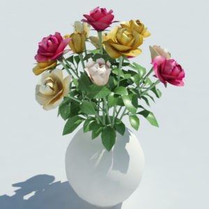 roses-vase-3d-model-multicolored-4