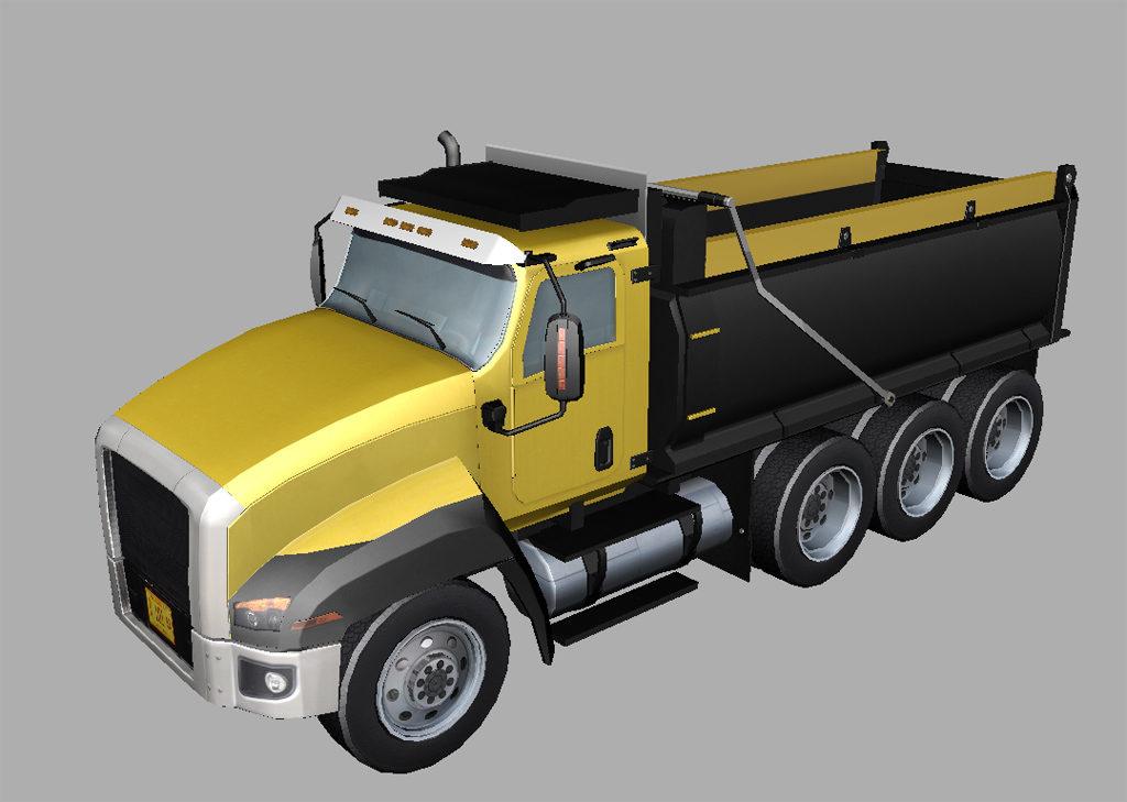 Dump Truck 3D Model - Realtime - 3D Models World