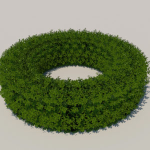 round-hedge-plants-3d-model-5