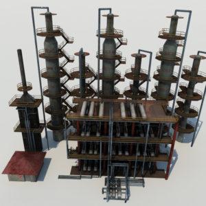 atmospheric-distillation-3d-model-unit-1