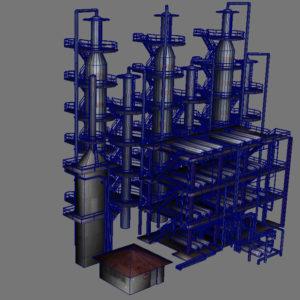 atmospheric-distillation-3d-model-unit-11