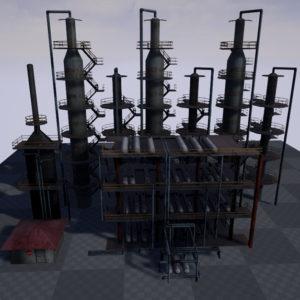 atmospheric-distillation-3d-model-unit-17