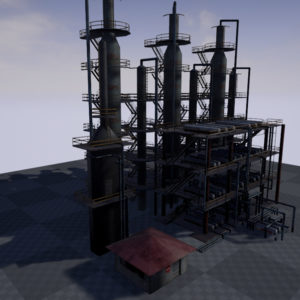 atmospheric-distillation-3d-model-unit-18