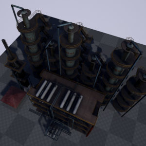 atmospheric-distillation-3d-model-unit-19