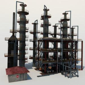 atmospheric-distillation-3d-model-unit-2