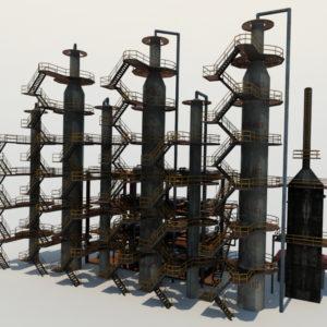 atmospheric-distillation-3d-model-unit-3