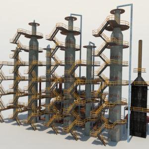 atmospheric-distillation-3d-model-unit-4