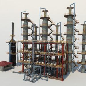 atmospheric-distillation-3d-model-unit-5