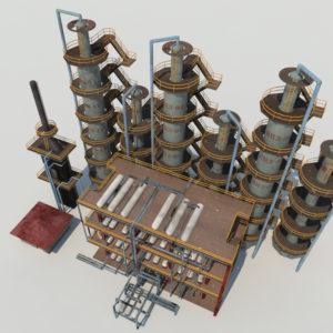 atmospheric-distillation-3d-model-unit-6