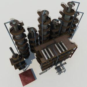 atmospheric-distillation-3d-model-unit-7
