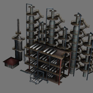 atmospheric-distillation-3d-model-unit-8