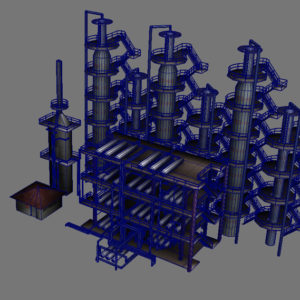 atmospheric-distillation-3d-model-unit-9